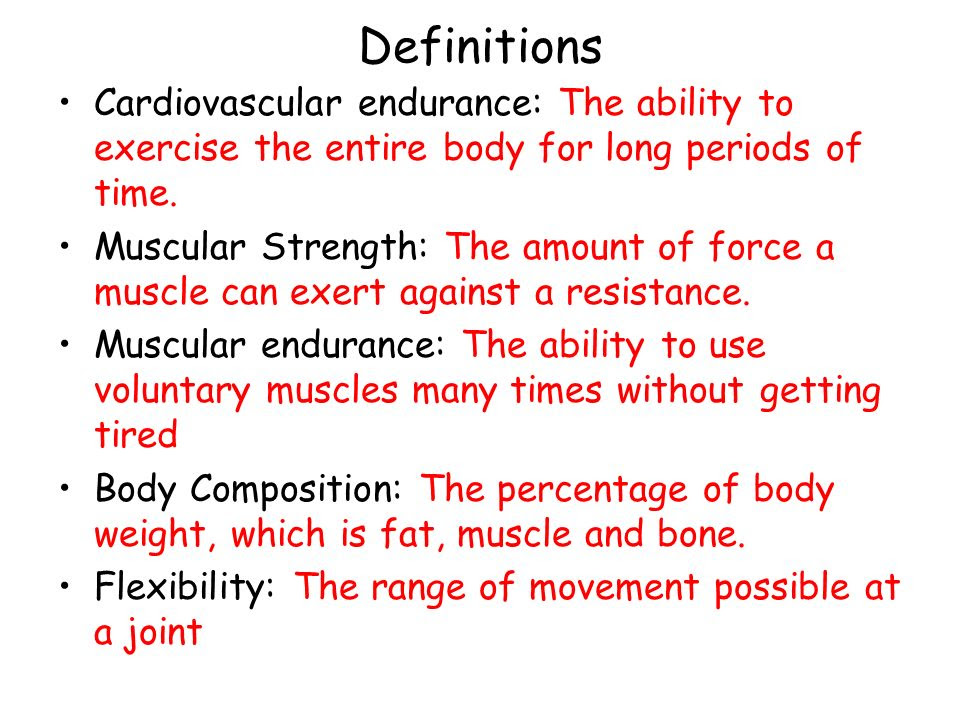 body fat percentage fitness definition