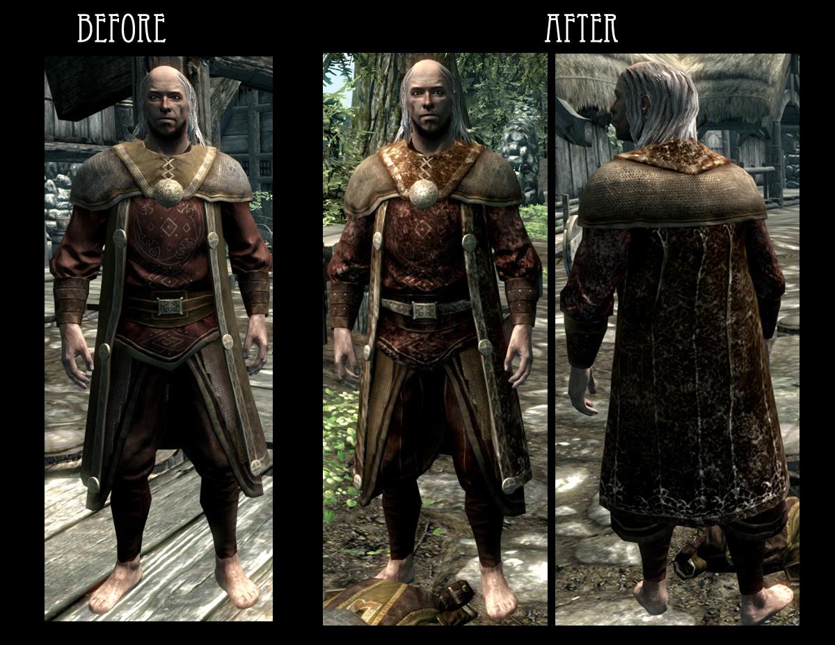 Treasure Hunters Garb - Light Armor Mashup -SSE at Skyrim