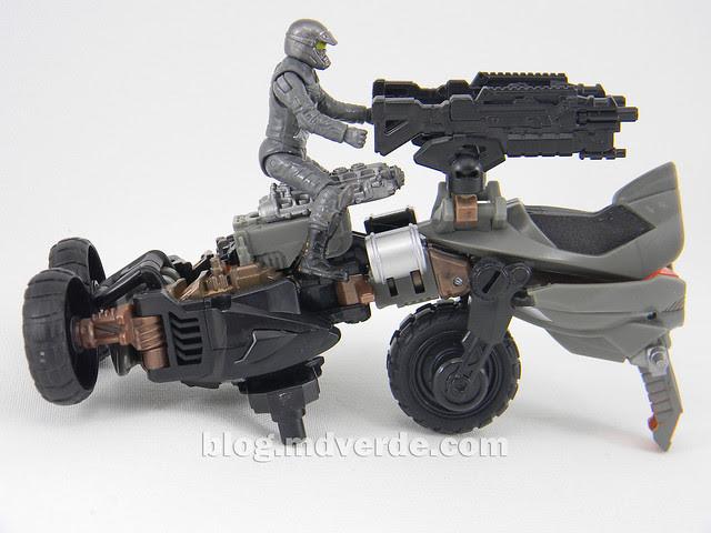 Transformers Backfire DotM Human Alliance - modo arma MechTech