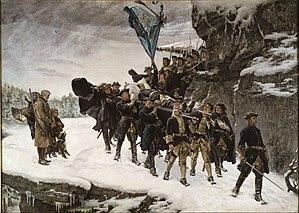 Gustaf Cederström - Bringing Home the Body of King Karl XII of Sweden - Google Art Project.jpg