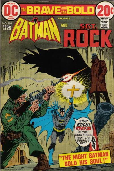 Sgt. Rock vs the Devil. Nuff Said.