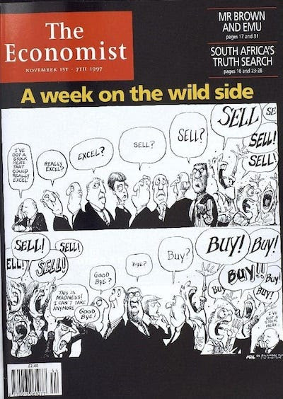 """A week on the wild side"" - November 1, 1997"