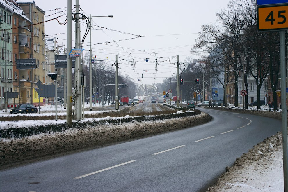 Wrocław zimą Breslau in Winter