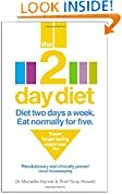 The 2-Day Diet by Michelle Harvie book cover