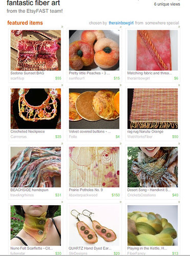 fantastic Fiber Art Treasury by therainbowgirl