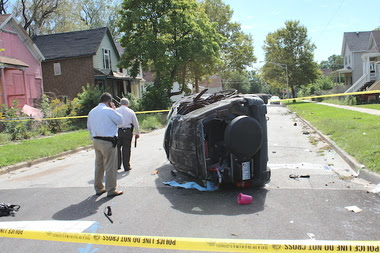 Englewood Shootout and Car Crash Leaves 1 Dead, 11 Injured, Police Say