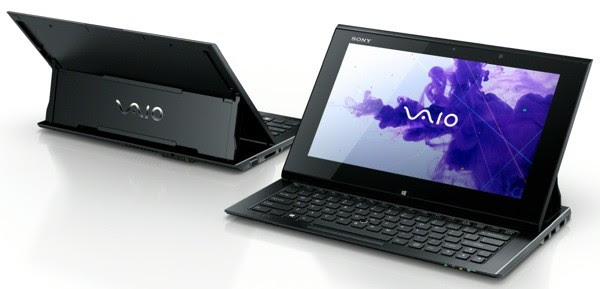 Sony unveils VAIO Duo 11 slideout tablet, Tap 20 portable touchscreen allinone
