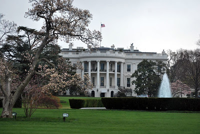 The White House, Washington, DC - South Lawn, photo by Peter Griffin