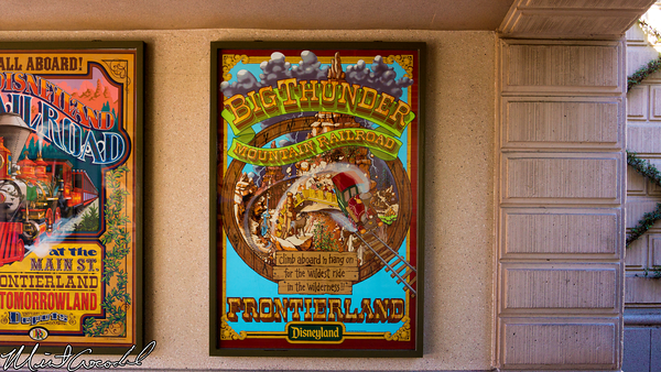 Disneyland Resort, Disneyland, Main Street U.S.A., Big, Hero, 6, Attraction, Poster, Big, Thunder