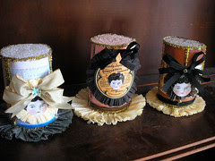 My Dollie Top Hat Boxes!Trio 2