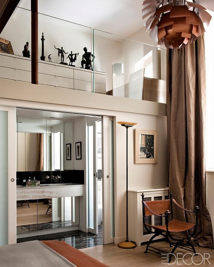 Elle Decor retornar à forma um apartamento em Paris Modern 2