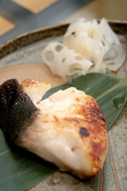 Gindara Saikyou Yaki - miso-marinated cod fish