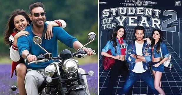 BO collection: Ajay Devgn starrer De De Pyaar De completes robust week, SOTY-2 remains low