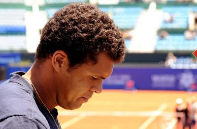 Black Tennis Pro's Jo-Wilfried Tsonga