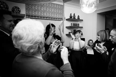 Robin & Joe   Intimate   whimsical 'dinner party' Jewish