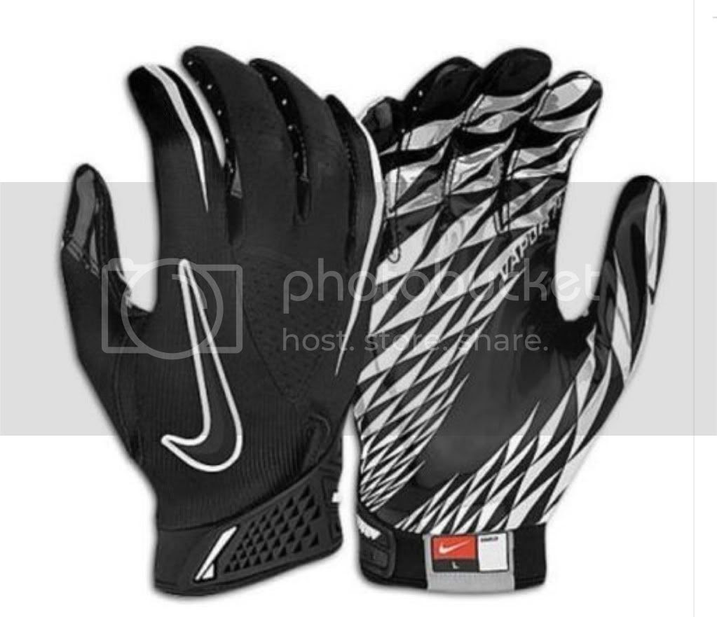 Nike Vapor Jet Skill Glove NFL Receiver Football Gloves XL NCAA NEW  eBay