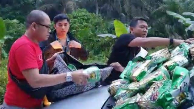 Bandar Narkoba Tabrak Polisi Pakai Mobil Berisi Puluhan Paket Sabu