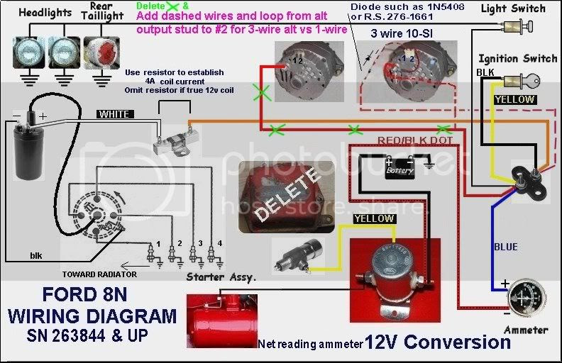 Ford 9n Conversion Wiring Diagram