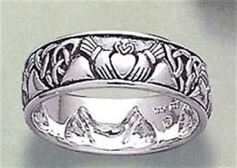 Peter Stone Jewelry Celtic Claddagh Rings in Sterling