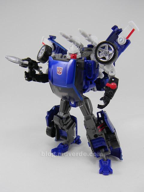 Transformers Tracks United Deluxe - modo robot
