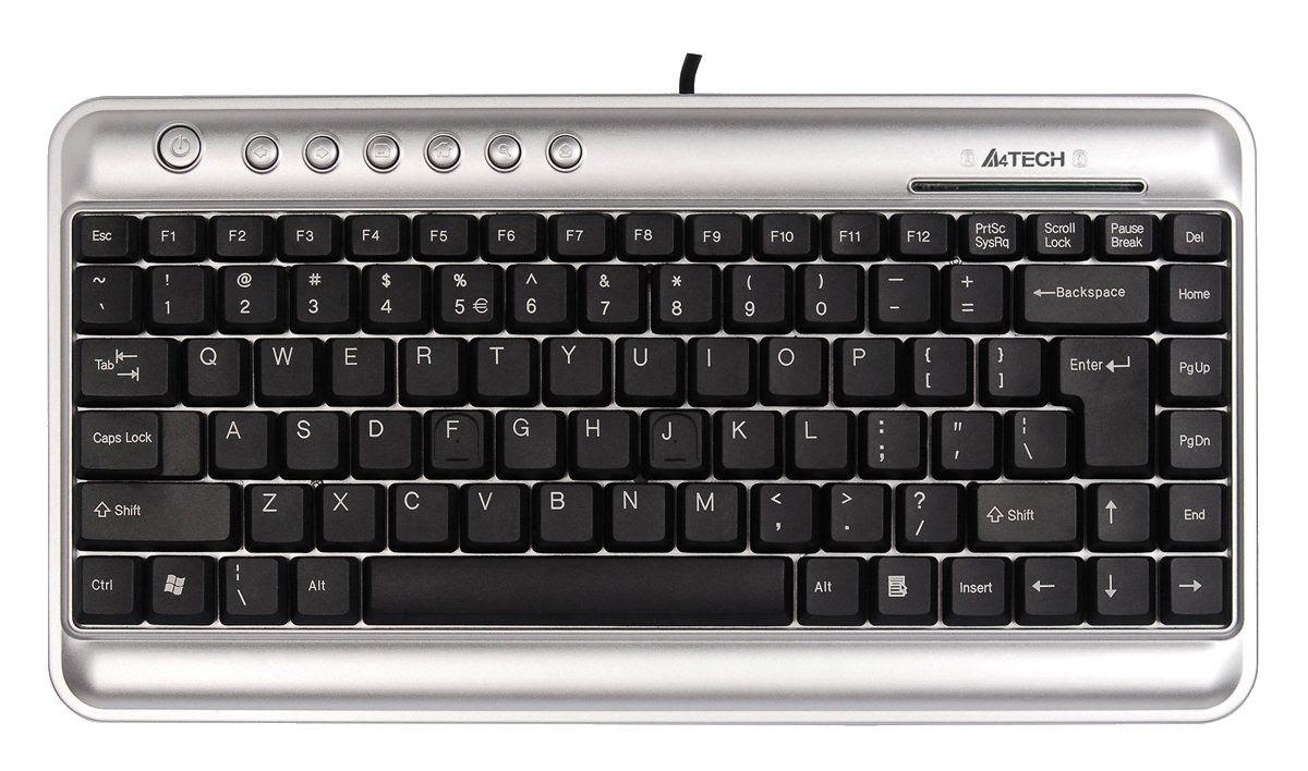 A4Tech KL-5 USB Compact Keyboard (UK Layout)
