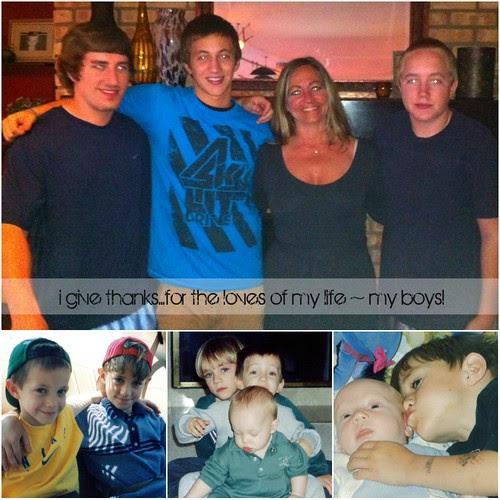 {Gratitude} Day 27 ~ My Boys
