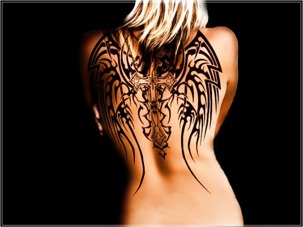 Angel Wing Tattoos For Girls 245 Classic Style Angel Wing