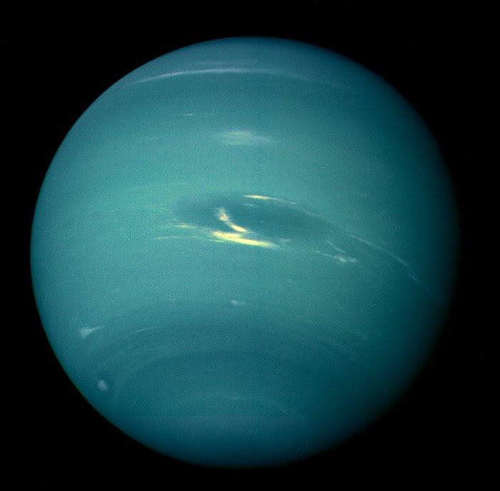 Ο Ποσειδώνας από το Voyager 2, 1989. Φωτο: Flickr/NASA