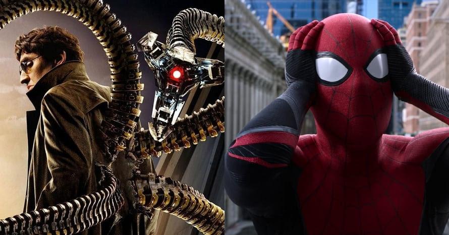 Alfred Molina Spider-Man 3 Tom Holland Doctor Octopus