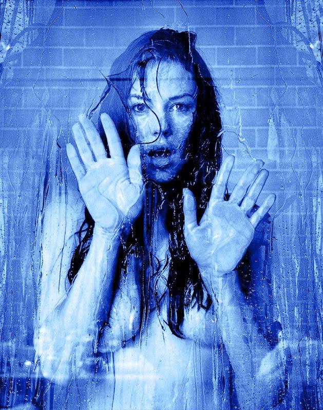 Krista Allen 801 in the shower