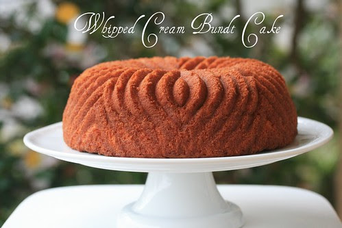 Whipped Cream Bundt Cake - I Like Big Bundts