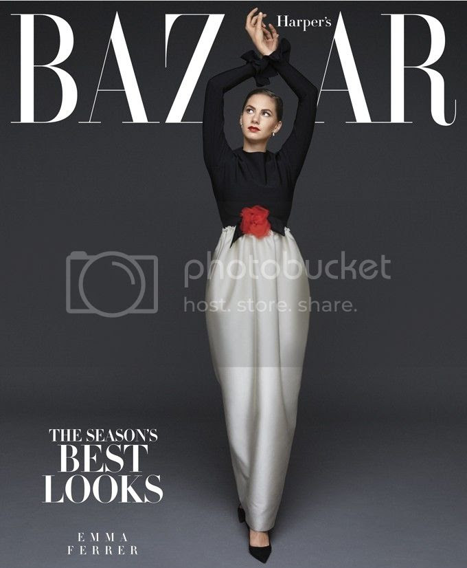 Emma Ferrer Covers Harper's Bazaar's September 2014 Subscriber Issue | Ses Rêveries