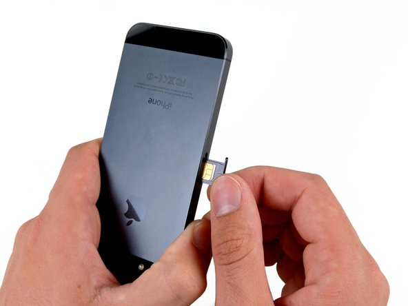 iPhone 5 SIM Card Replacement - iFixit