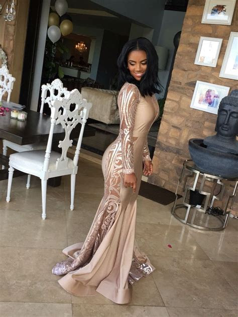 17  best ideas about African Prom Dresses on Pinterest