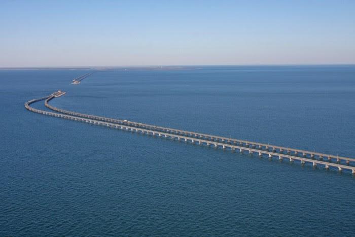 Resultado de imagen para Puente de la Bahía de Chesapeake