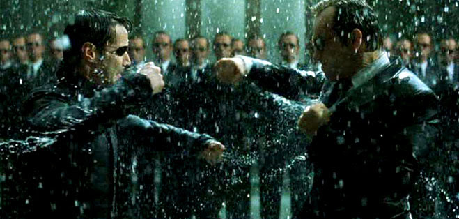 Fighting the matrix....