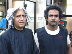 Babloo Shakil Ahmed of Black Salon Bandra by firoze shakir photographerno1