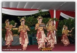 Tari Cangget - Daerah Lampung