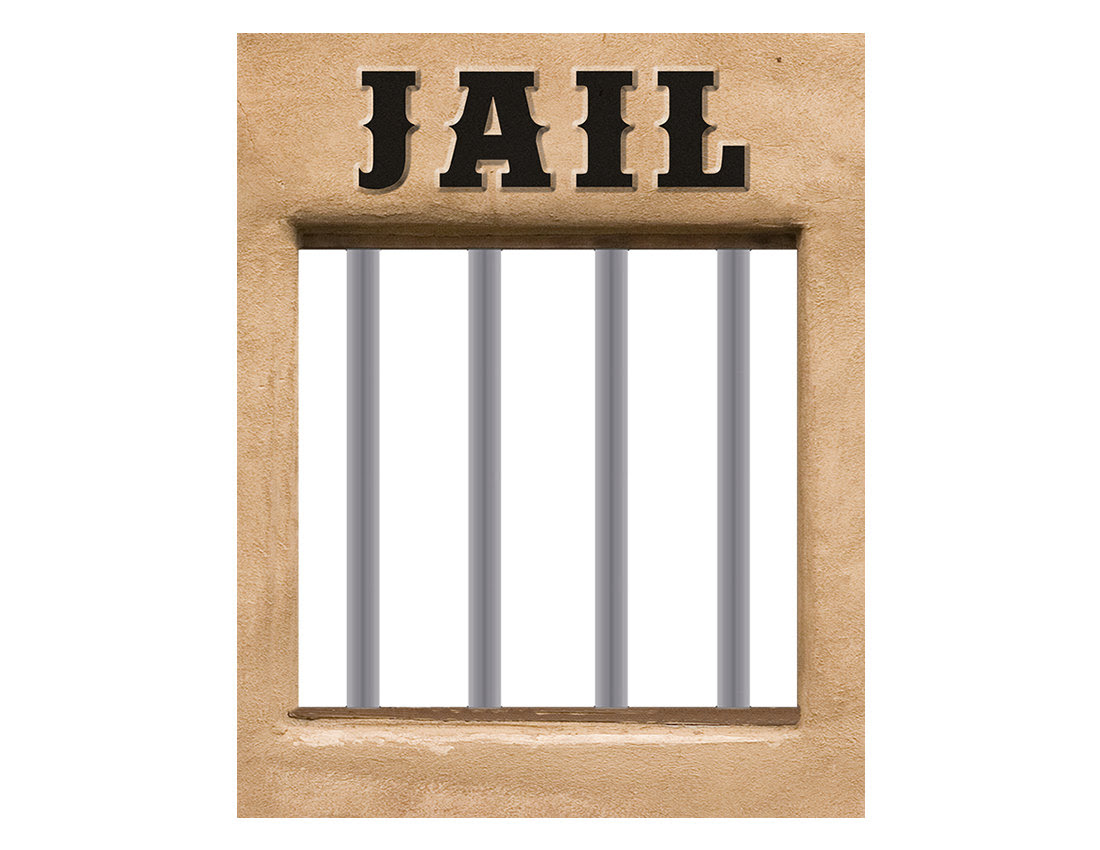 Jail Poster Western Cowboy Clipart Panda Free Clipart Images