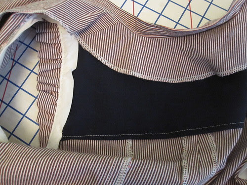 Self-Drafted Back Facing
