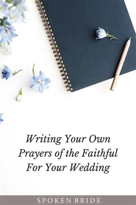Writing Your Own Prayers of the Faithful   Forever & ever
