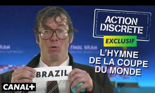 Action discrète remix l'hymne de la coupe du monde