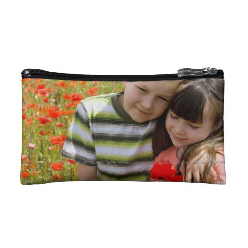 Small Cosmetic Bag Handbag Personalized Picture from Zazzle.