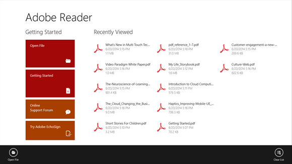 PDF Reader for Windows 10 Free Download