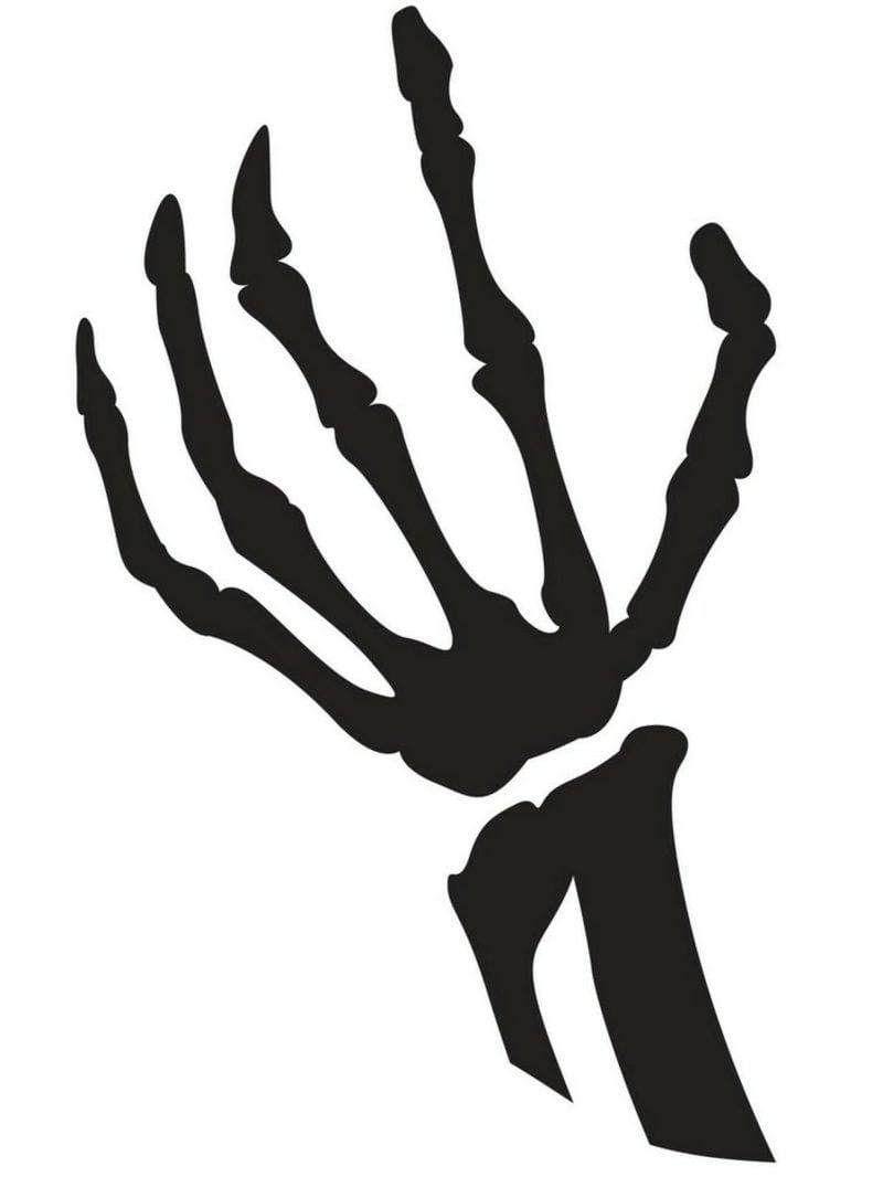Hand Knochen Schnitzvorlage Halloween 800x1066 Faszinierend Kürbis Gesichter Vorlagen Heim und Möbel