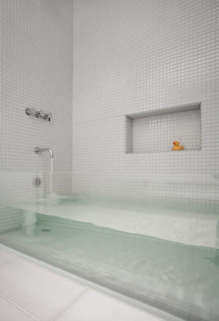sternmccafferty custom glass bathtub - contemporary - bathroom ...