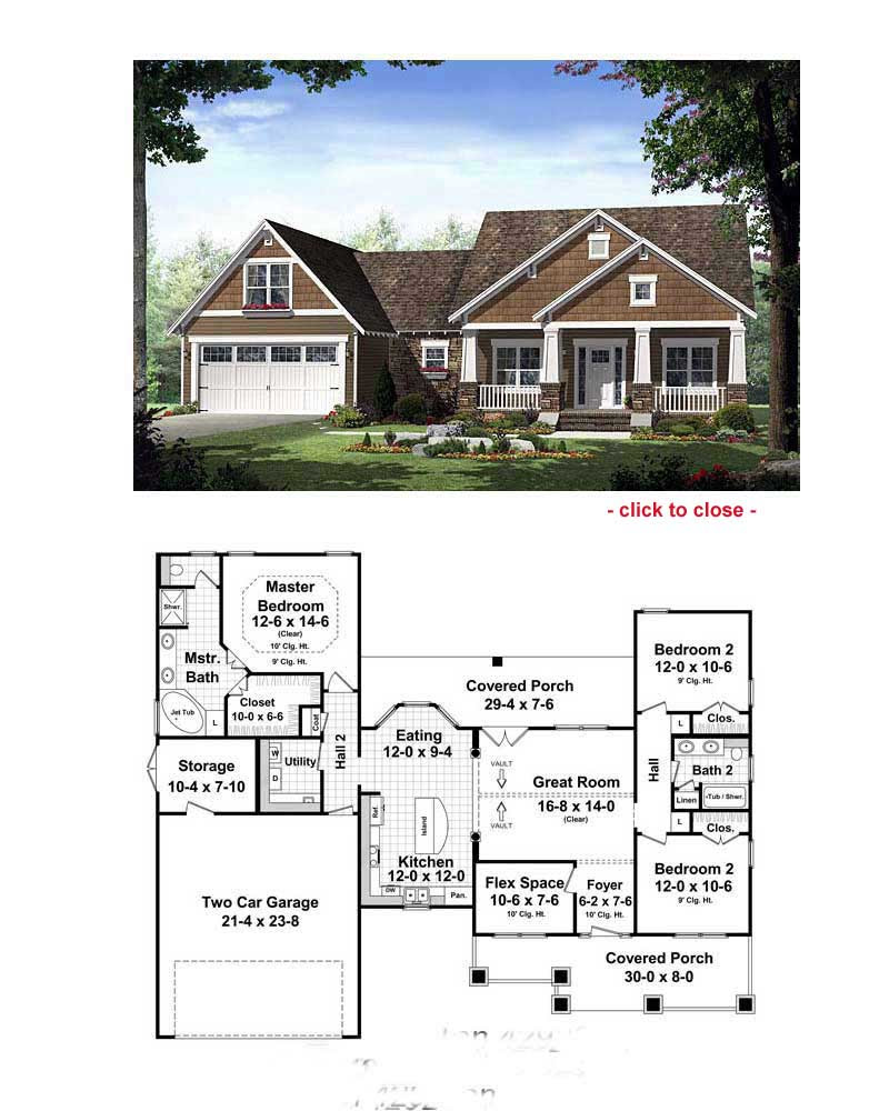 Bungalow Floor Plans | Bungalow Style Homes | Arts and ...