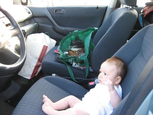 Ok, dad, my turn to drive.