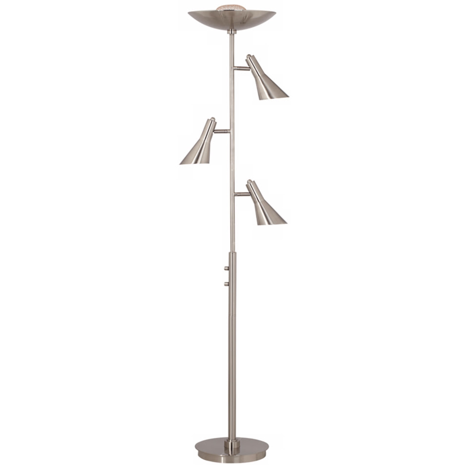 Possini Euro Design 4 In 1 Torchiere Floor Lamp T5629 On Popscreen