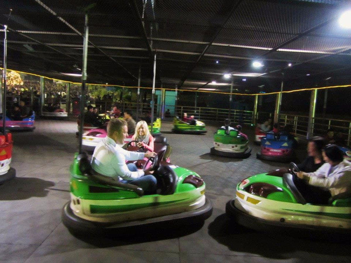 Back in Pyongyang, they went to a Fun Fair filled with roller coasters, bumper cars without seat belts, and a target practice competition with locals. According to Justin, the Fun Fair is restricted to elites, but the two were able to join while being escorted to each ride with at least half a dozen guards and minders.